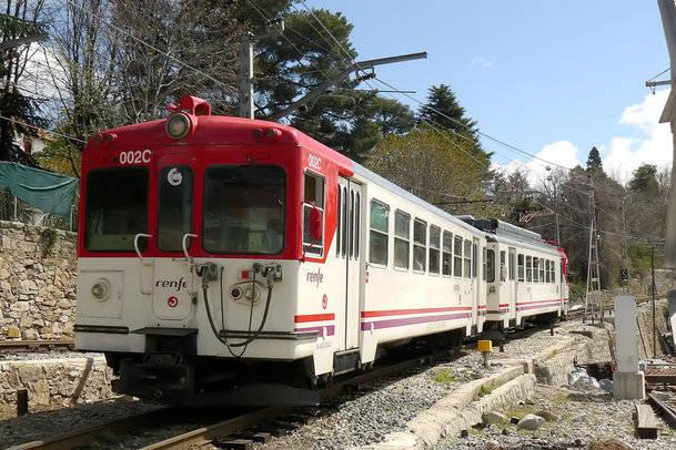 Suspendido hasta el próximo viernes el servicio de Cercanías entre Puerto de Navacerrada y Cotos