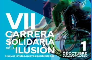 Carrera Solidaria de la Ilusión en Collado Villalba en favor de las personas con Daño Cerebral Sobrevenido