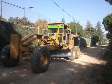 Adecuación de los viales de tierra de la Urbanización Montencinar de El Escorial