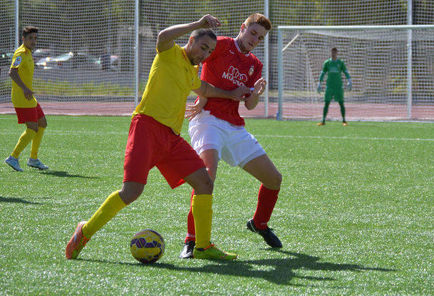 El C.U.C. Villalba solo puso empatar con el Alcalá B (1-1) en la Ciudad Deportiva