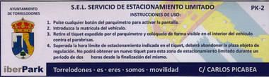 Ciudadanos de Torrelodones solicita datos sobre el servicio de estacionamiento limitado gratuito