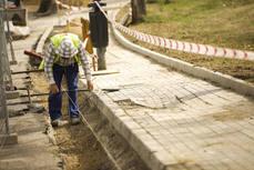 Comienza la remodelación de la Avenida de la Coruña entre la plaza de Madrid y la calle Doctor Toledo