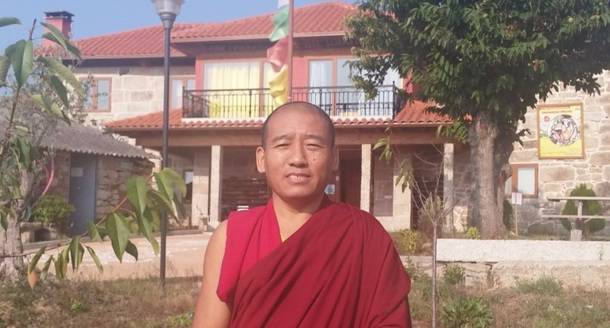 El Lama Budista tibetano Guen Jampa Ngodrup visita esta semana San Lorenzo de El Escorial