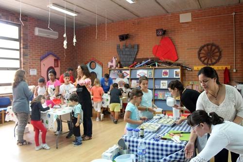 Un centenar de personas se colgaron el 'delantal familiar' en la III Edición del taller de cocina de Valdemorillo