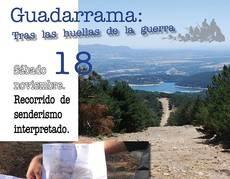 """Última salida de la temporada del programa """"Tras las huellas de la guerra en Guadarrama"""""""