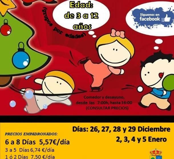 Vuelve el campamento urbano en Valdemorillo en plenas vacaciones navideñas