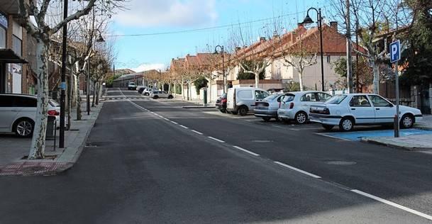 El Ayuntamiento de Galapagar ha invertido 280.000 euros en mejorar el asfaltado de ocho calles