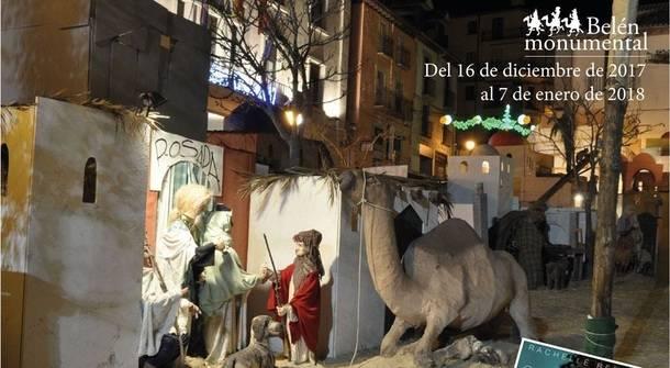 Este fin de semana ha dado comienzo la Navidad en San Lorenzo con el tradicional Belén Monumental