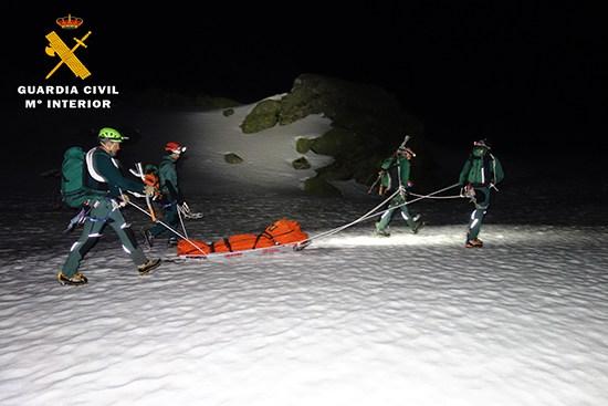 La Guardia Civil localiza y evacúa a un senderista