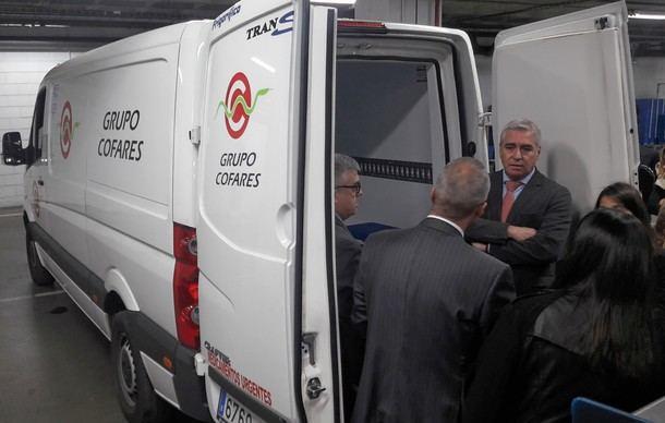 La Comunidad apoya a las empresas de la región que renuevan sus flotas con vehículos más ecológicos