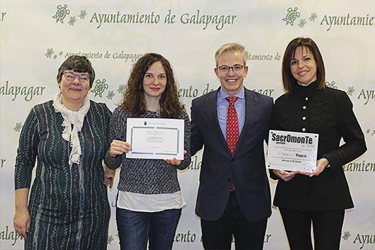 El gastrobar Sacromonte gana el premio a la mejor tapa de Galapagar
