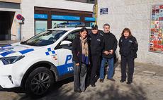 La Policía Local dispone de un nuevo vehículo todoterreno híbrido