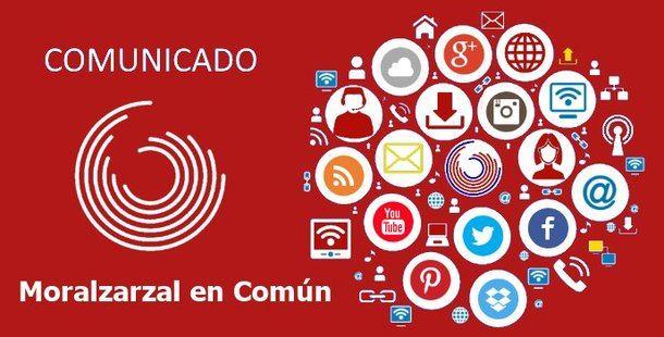 Moralzarzal en Común acusa al alcalde de establecer la censura en los medios municipales