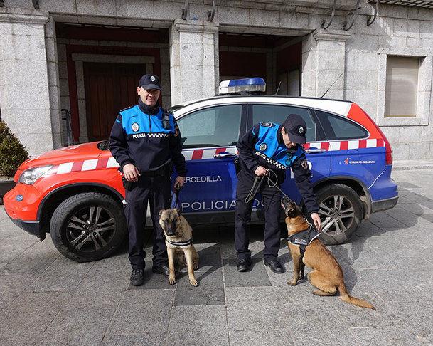 El Pleno de Cercedilla da luz verde a la Unidad Canina de la Policía Local