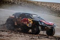 Peugeot y la Comunidad de Madrid organizan una exposición sobre la victoria de Carlos Sainz y Lucas Cruz en el Dakar 2018