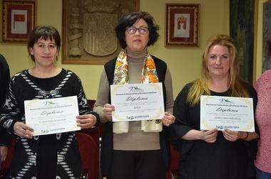 La floristería Rosa Mari, Barja y el herbolario Her-Deco, ganadores del concurso de escaparatismo de la ACEG