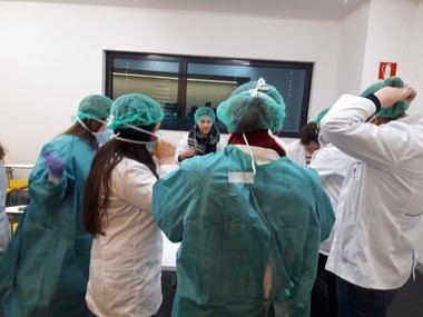 El Hospital General de Villalba participa en el programa 4º ESO+Empresas para ayudar a jóvenes a decidir su futuro profesional