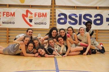 Las jugadoras junior del HM Hospitales de Torrelodones se proclaman subcampeonas de Madrid
