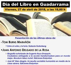 Tom Burns y Juan Antonio Delgado de la Rosa presentan sus obras en Guadarrama