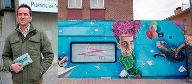 El PP denuncia al 'desgobierno' de Moralzarzal por promover los grafitis en edificios públicos del municipio