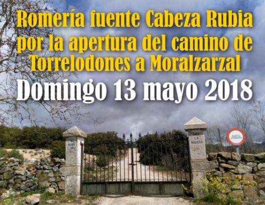 Siete asociaciones reivindican el carácter público del camino de Torrelodones a Moralzarzal