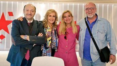 Mariola Vargas y Luis Miguel López Reillo, en Com.Permiso. (Foto: Twitter @MadridDirectoOM)
