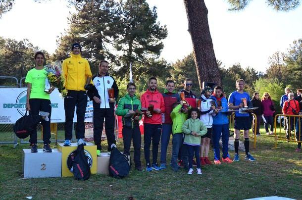 Juan Antonio Cuadrillero y Pilar Arias ganadores de la X edición de la Vuelta La Jarosa