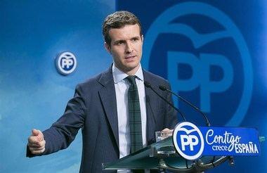 Casado dice que se está machacando su 'prestigio profesional' por estar entre futuribles candidatos al PP de Madrid