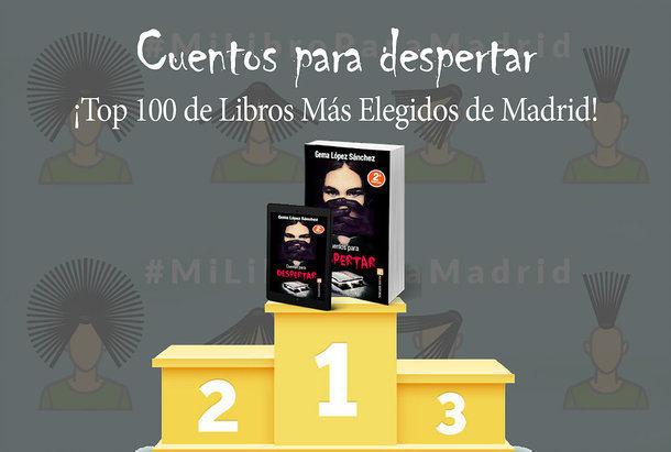 La villalbina Gema López vuelve a conquistar el Top 100 de libros de Madrid con su obra 'Cuentos para despertar