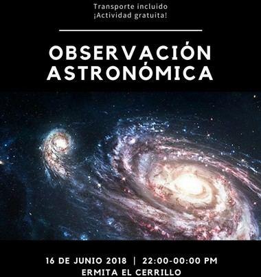 Hoy, sábado, operación astronómica en la Ermita del Cerrillo de Galapagar