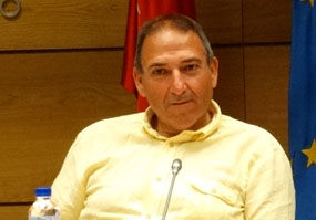 El concejal no adscrito, Alberto Sánchez