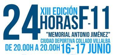 El At. Villalba organiza la XIII Edición de 24 Horas de Fútbol 11, Memorial 'Antonio Jiménez'