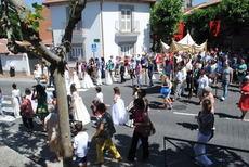 El centenario baile de la bandera mantendrá la tradición con la que Valdemorillo corona su Corpus