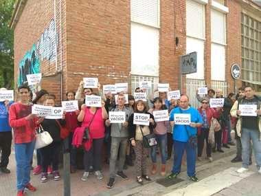 Vecinos denuncian la falta de política de vivienda en Collado Villalba