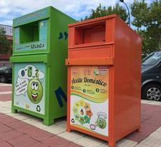 Moralzarzal instala nuevos contenedores de reciclaje de aceite en sus calles