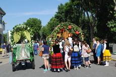 Concurso de carretas en Valdemorillo para hacer más vistosa la romería de la Virgen de la Esperanza