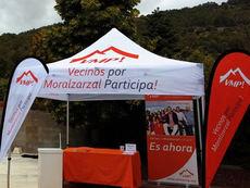 'Vecinos por Moralzarzal Participa!' sale a la calle desde el sábado con su 'Mesa de Escuchar'