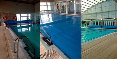 Alpedrete instala cobertores de piscina para ahorrar energía