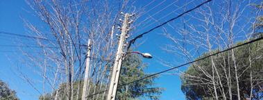 La Colonia de Torrelodones sigue sufriendo constantes cortes de luz
