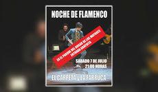 La Noche de Flamenco con El Carpeta y La Farruca se traslada al Parque del Hogar