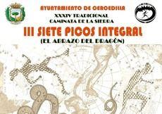 Abierta la inscripción para la III Siete Picos Integral y la XXXIV Caminata de la Sierra