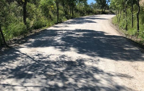 Acondicionamiento de varios caminos en El Escorial
