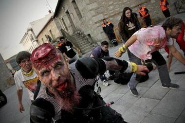 Las 'invasión zombie' llega a Collado Villalba el sábado, 15 de septiembre, en una escalofriante aventura de supervivencia