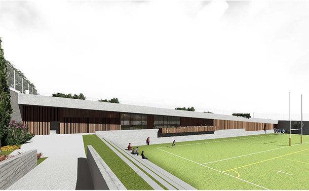Se pone en duda la idoneidad del terreno elegido para construir un campo de rugby en Torrelodones
