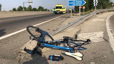 Herido grave un ciclista de 61 años tras ser atropellado por un turismo en la M-505.
