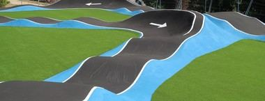 Inaugurada la pista de Pump Track en San Lorenzo