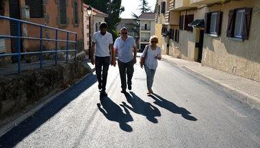 Finalizada la primera fase del plan de asfaltado del casco urbano de Guadarrama