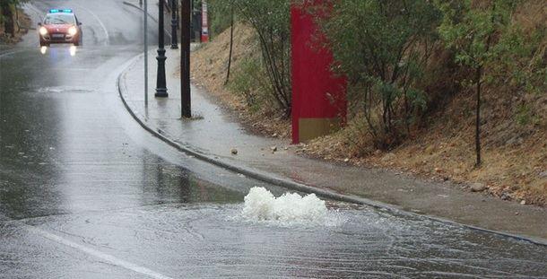 Continúa el plan de obras para eliminar los riesgos de inundación de Torrelodones