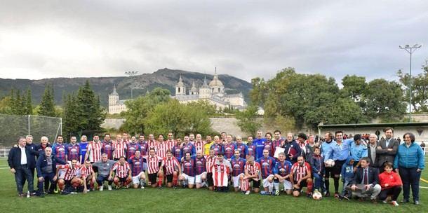 El Athletic de Bilbao protagonista del centenario de la U. D. San Lorenzo