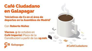 Ciudadanos Galapagar celebra hoy un 'Café Ciudadano' sobre el Deporte en la Sierra